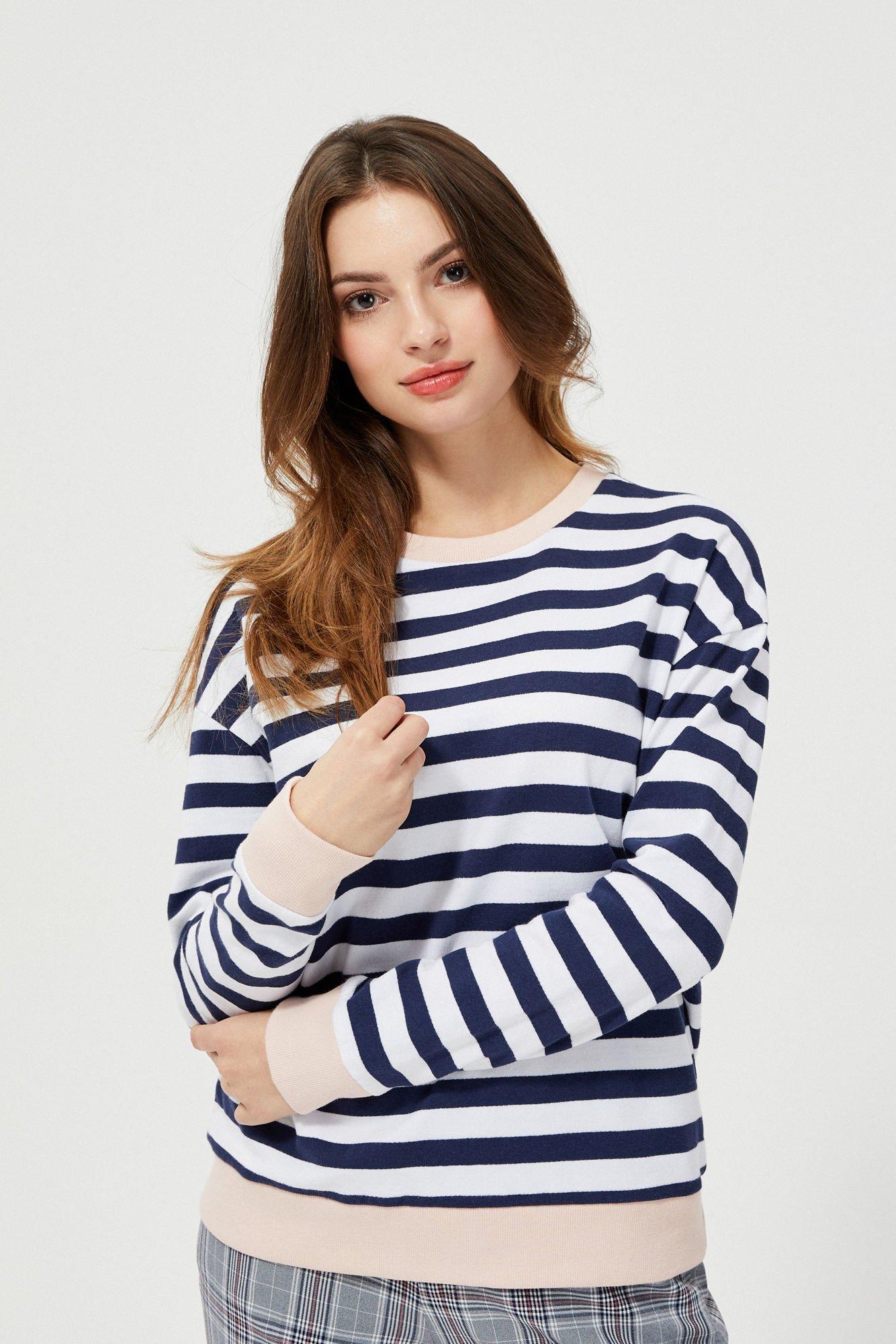 Bluza w stylu marynarskim
