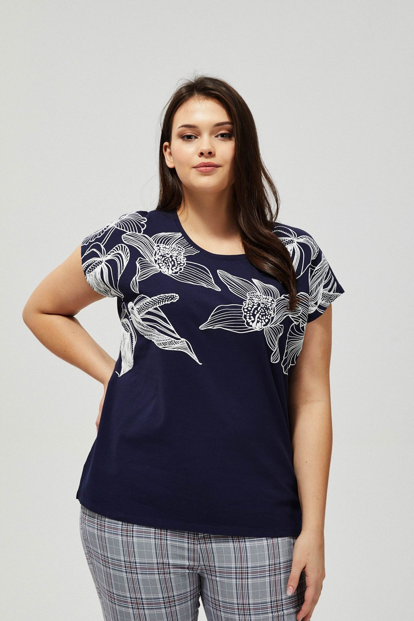 T-shirt z nadrukiem