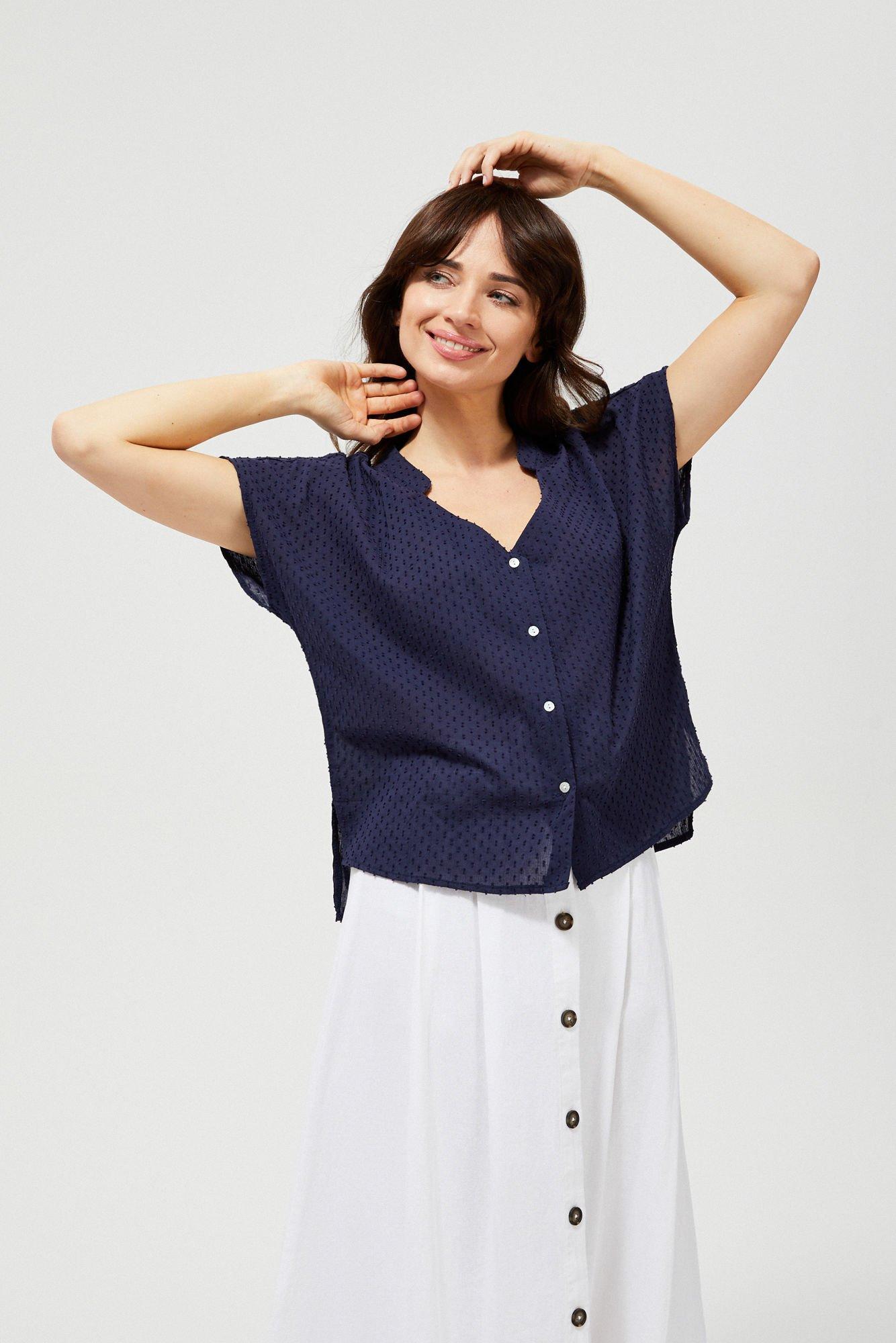 Koszula bawełniana z krótkim rękawem