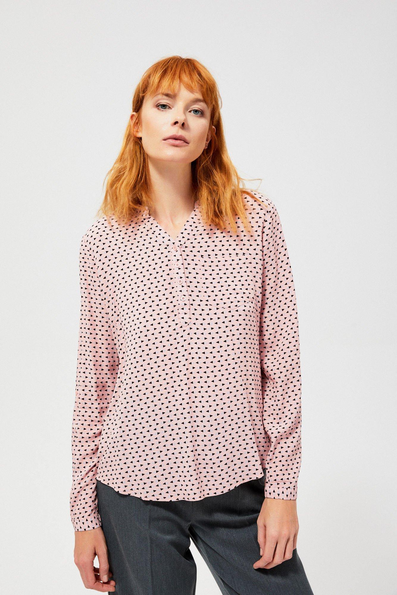 Koszula z guzikami przy dekolcie