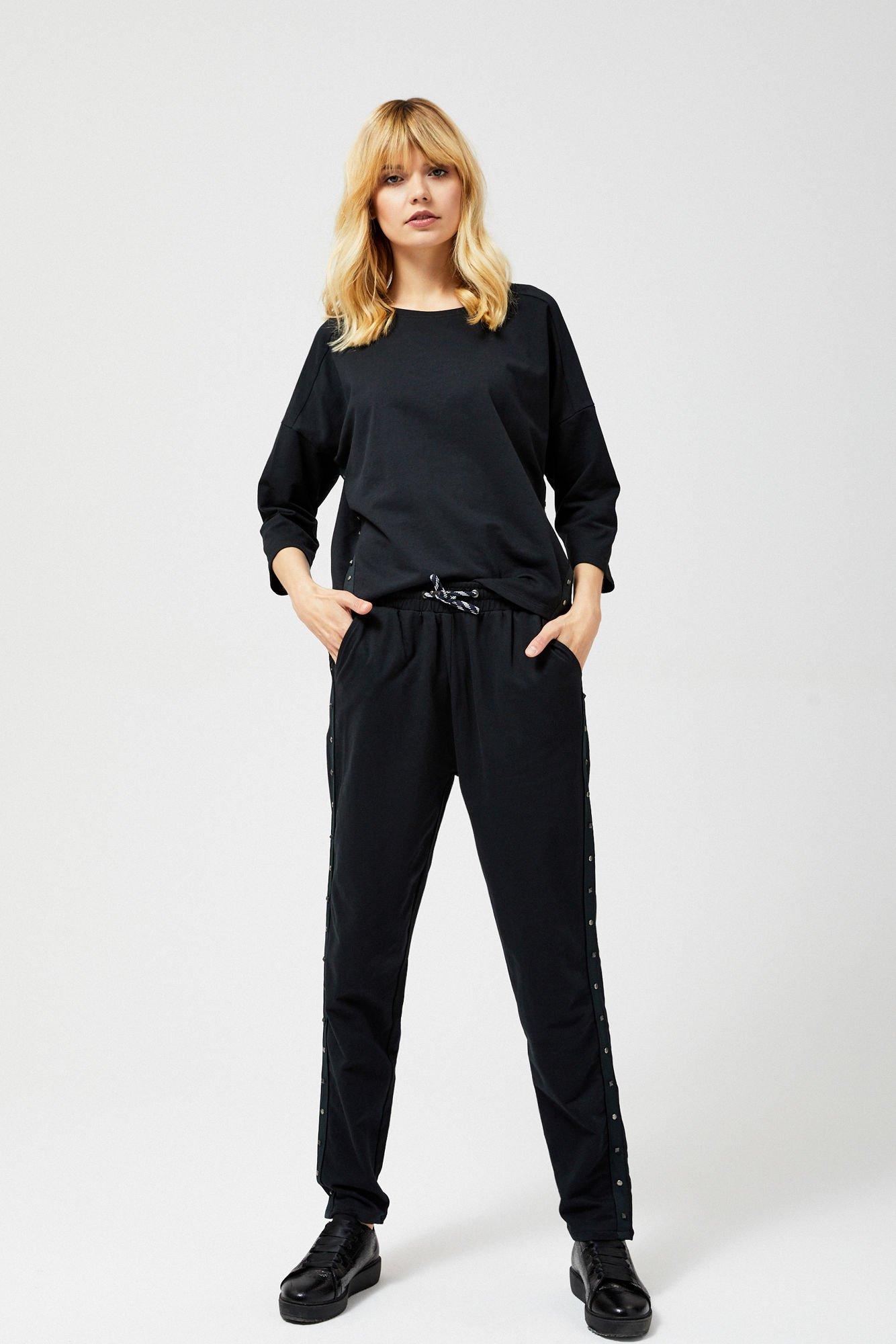 Spodnie dresowe z dżetami