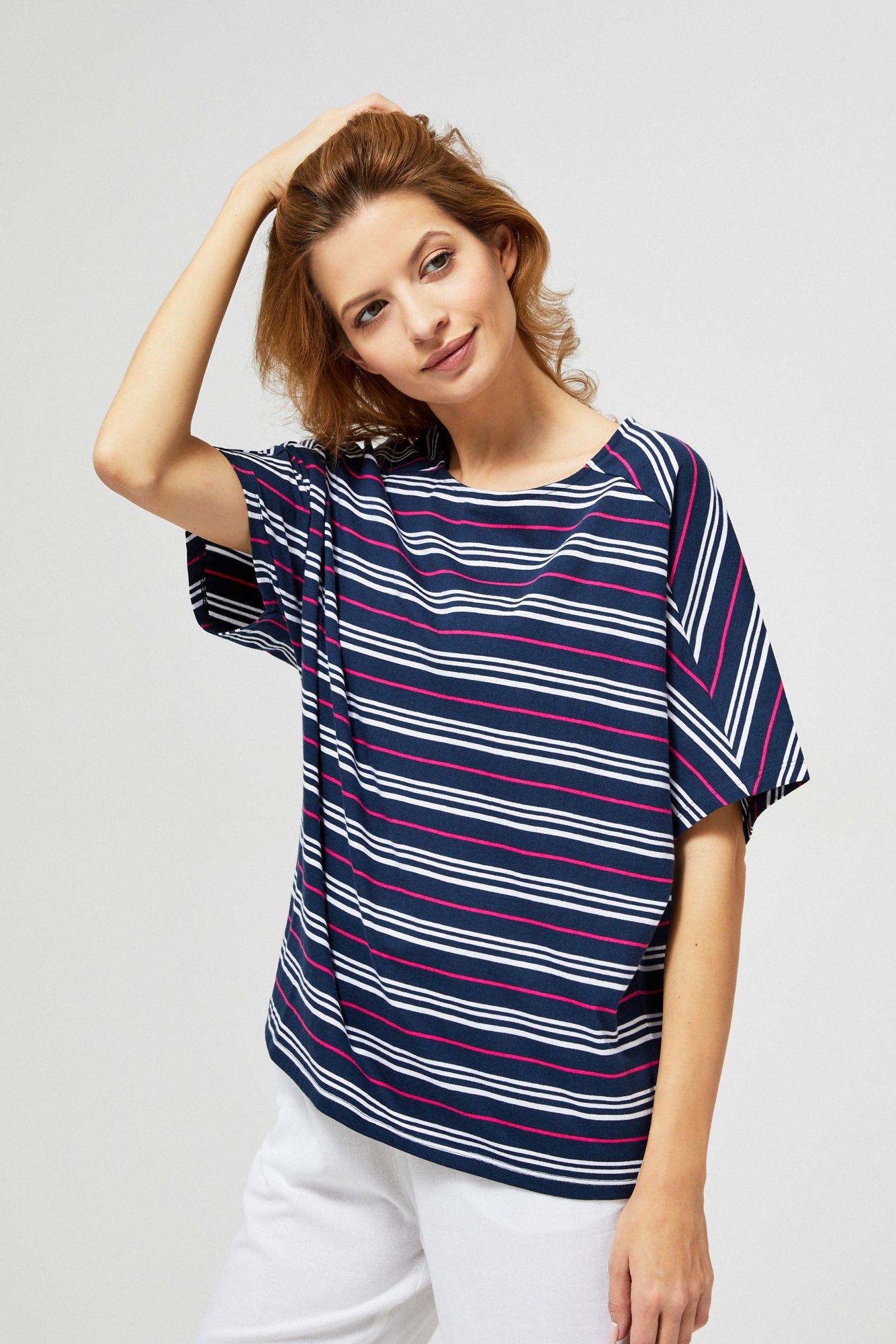 Bluzka bawełniana typu oversize