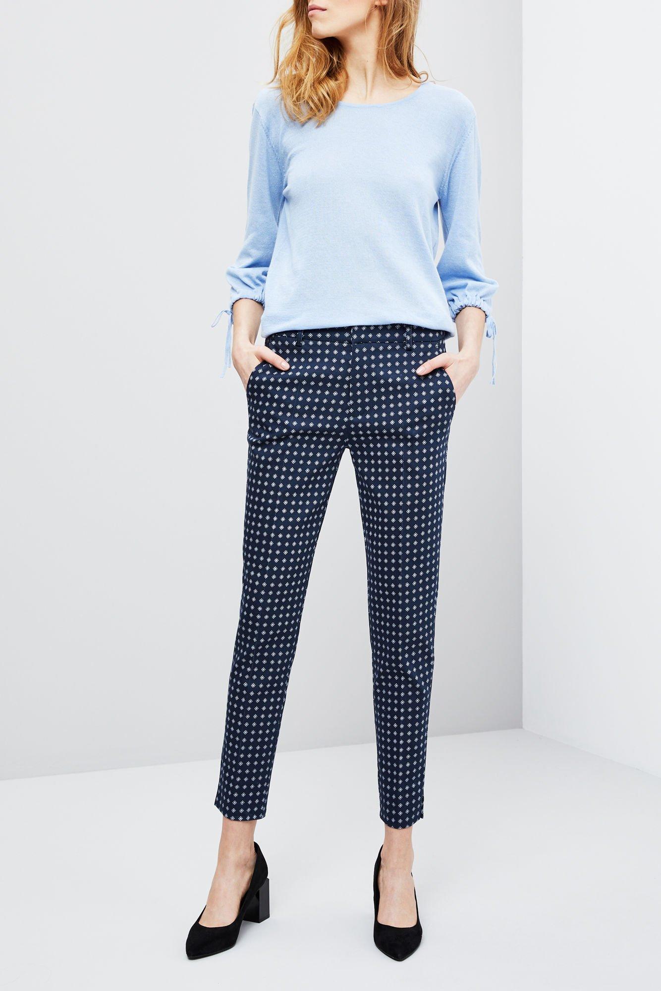14e2a5a531 Eleganckie spodnie z nadrukiem -