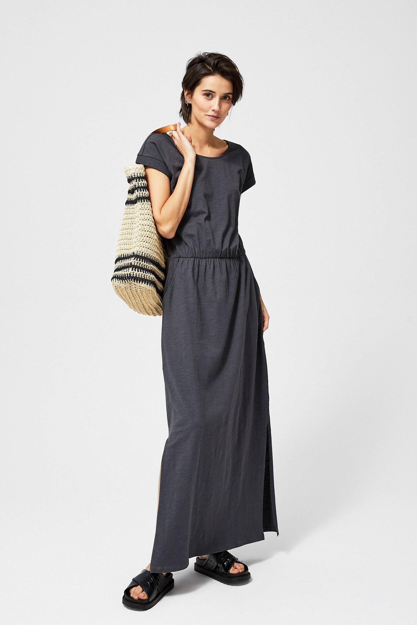 5553bfbcf3 ... Sukienka bawełniana typu maxi ...