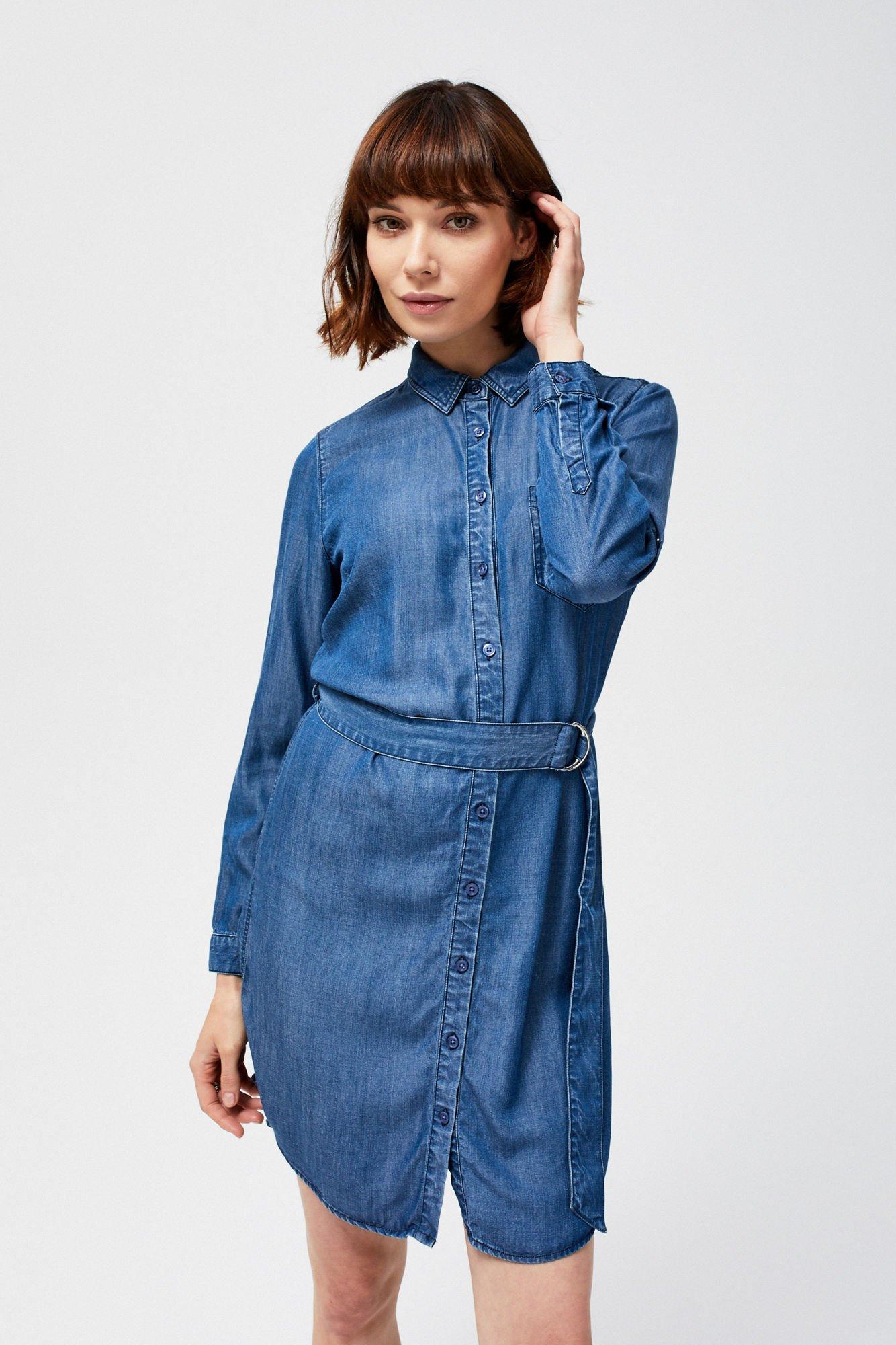 08a1cc15a7 Sukienka jeansowa -