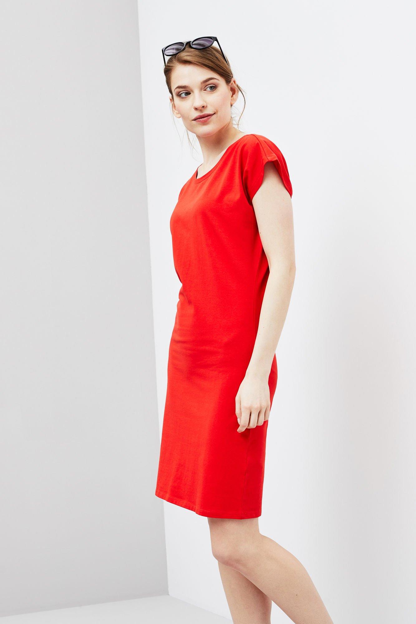 2c6f7307fb Sukienka z wiązaniem na plecach -
