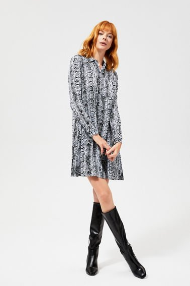 27e8f3e0 Eleganckie sukienki koszulowe, sukienki z paskiem damskie | Moodo