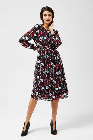5bacb1702b921d Eleganckie sukienki koszulowe, sukienki z paskiem damskie | Moodo